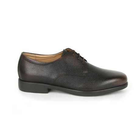 Fulvio Pebble Calf Tie Dress Shoe // Brown (US: 7)