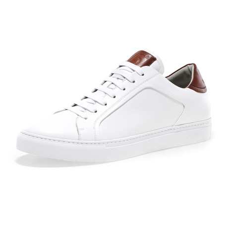 Blake-Low Lace-Up Sneaker // White Pebble (US: 7)