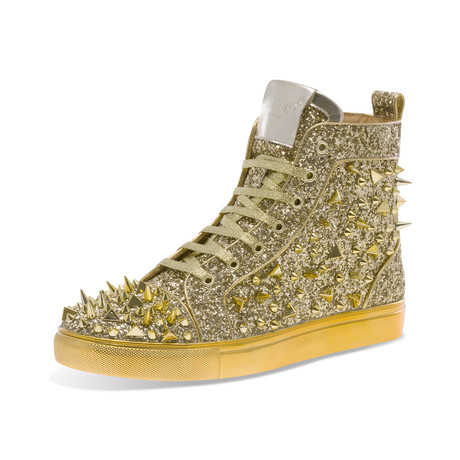 Sloan High-Top Sneaker // Gold (US: 7)
