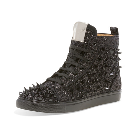 Sloan High-Top Sneaker // Black (US: 7)