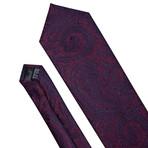 Monet Handmade Tie // Deep Burgundy