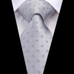 Olivier Handmade Tie // Silver