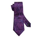 Jacques Handmade Tie // Purple