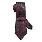 Rene Handmade Tie // Maroon