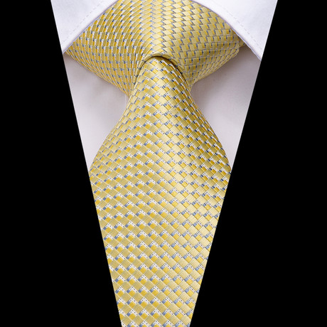 Zacharie Handmade Tie // Yellow