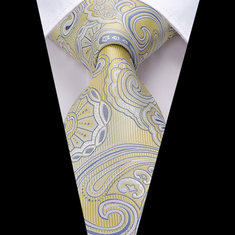 Sandro Handmade Tie // Light Yellow