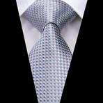 Caspar Handmade Tie // Silver