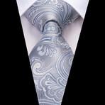Titan Handmade Tie // Silver