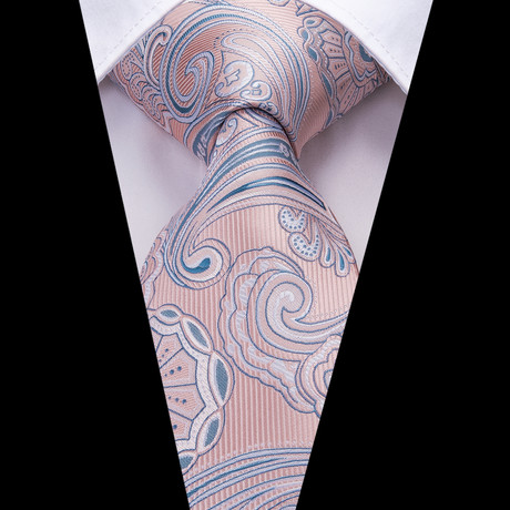 Piet Handmade Tie // Light Pink