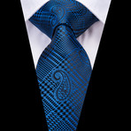 Abbott Handmade Tie // Blue