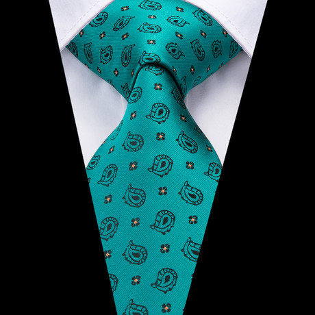 Giotto Handmade Tie // Teal