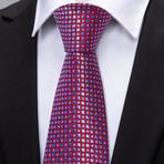 Westminster Handmade Tie // Red + Blue