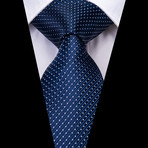Mandel Handmade Tie // Navy