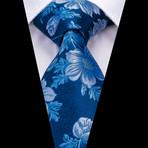 Franz Handmade Tie // Blue Floral