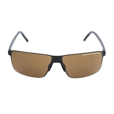 Men's P8646 Sunglasses // Black II