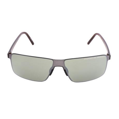 Men's P8646 Sunglasses // Dark Gunmetal