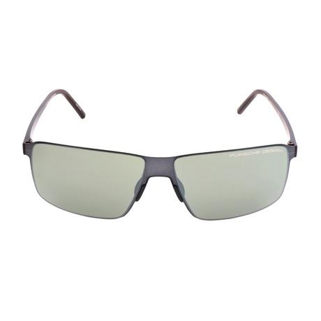 Men's P8646 Sunglasses II // Dark Gunmetal