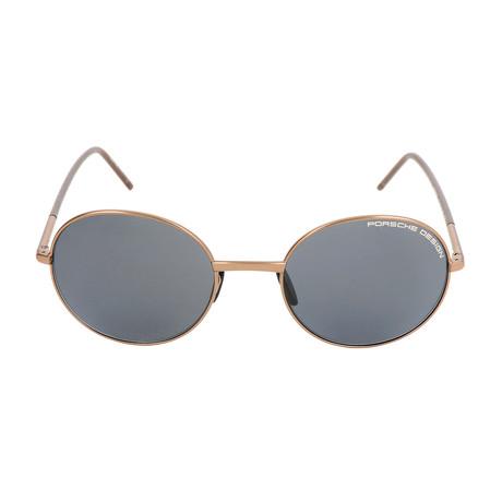 Unisex P8631 Sunglasses // Copper + Brown + Gray Blue