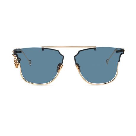 Hove Sunglasses // Ocean + Solid Blue