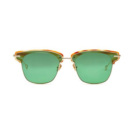 Allev Sunglasses // Bottle Green