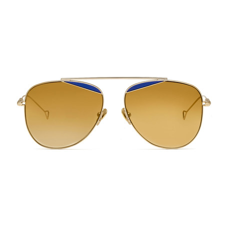 Durete Sunglasses // Bronze + Bronze Gradient Mirror