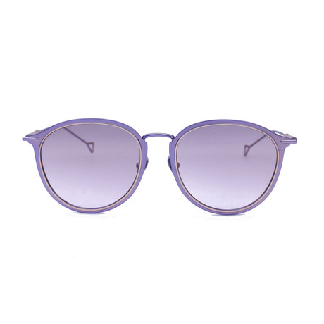 Lynne Sunglasses // Orchid Rose + Lilac Gradient Mirror