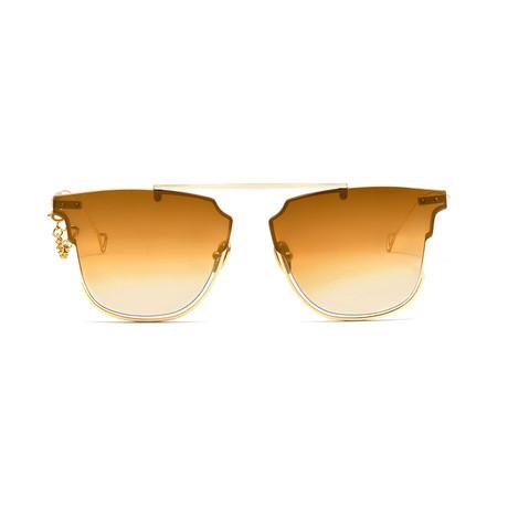 Hove Sunglasses // Bronze + Bronze Gradient Mirror