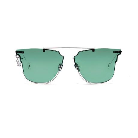 Hove Sunglasses // Green Mist + Solid Green