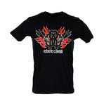 Flamin Logo T-Shirt // Black (S)