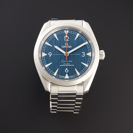 Omega Seamaster Railmaster Blue Jeans Automatic // 220.10.40.20.03.001 // Pre-Owned