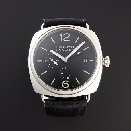 Panerai Radiomir 10 Days GMT Acciaio Automatic // PAM 323 // Pre-Owned