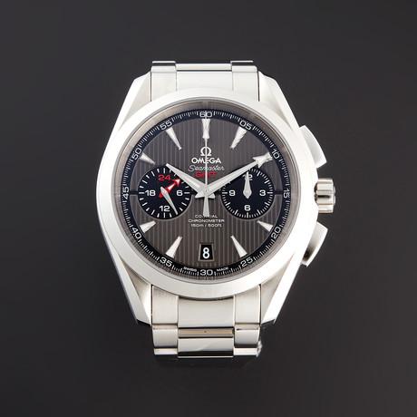 Omega Seamaster Aqua Terra GMT Chronograph Automatic // 231.10.43.52.06.001 // Pre-Owned