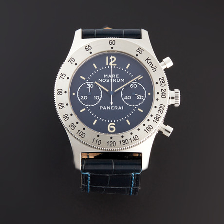 Panerai Mare Nostrum Chronograph Manual Wind // PAM 716 // Pre-Owned