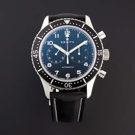 Zenith Heritage Chronometre Tipo CP2 Chronograph Automatic // 03.2240.4069/21.C774 // Pre-Owned