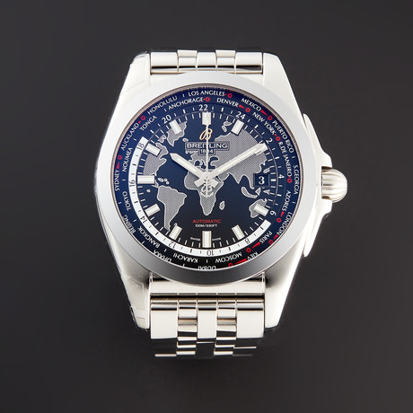 Breitling Galactic Unitime Automatic // WB3510U4/BD94 // Pre-Owned