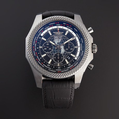 Breitling Bentley B05 Unitime Midnight Chronograph Automatic // MB0521V4/BE46 // Pre-Owned