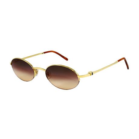 Unisex SHI10320 Sunglasses // Sapphire + Pale Gold