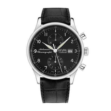 Gevril West Side Chronograph Automatic // 45500
