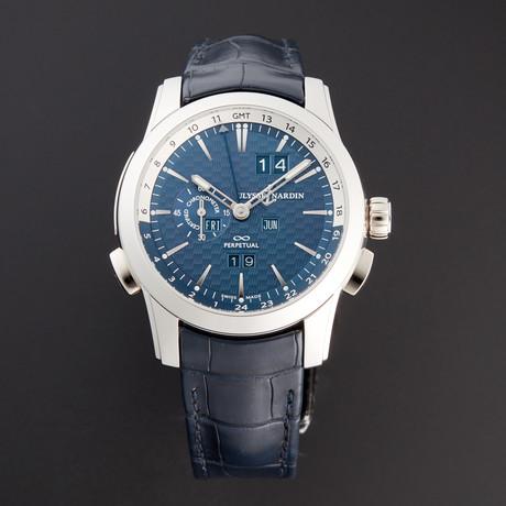 Ulysse Nardin GMT Perpetual Automatic // 329-10/93-BQ // Unworn