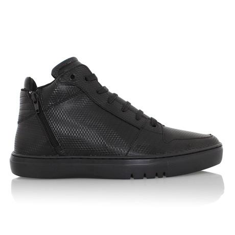 Adonis Mid Zip Sneaker // Black (US: 7)