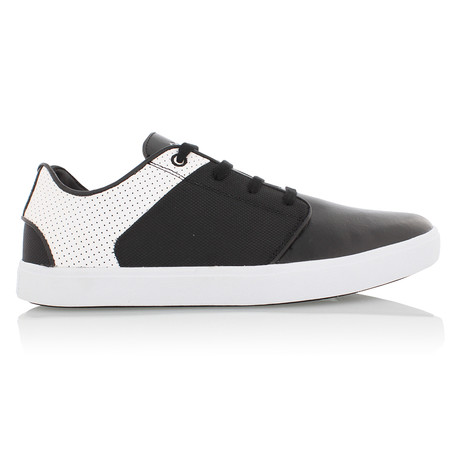 Santos Low Top // Black + White (US: 7)