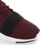 Ceroni Low Top Runner // Burgundy + Black (US: 7)