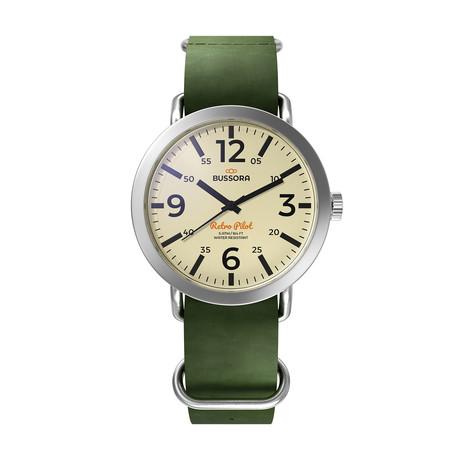 Bussora Classico Verde Militare Quartz // 8719925170706
