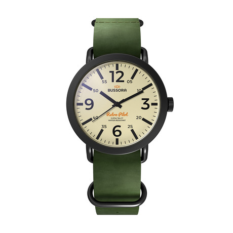 Bussora Nero Verde Militare Quartz // 8719925170713