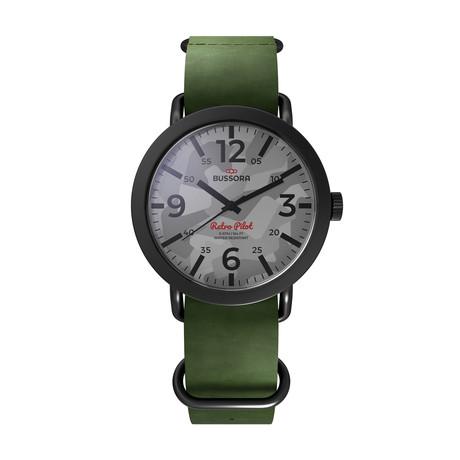 Bussora Camouflage Verde Militare Quartz // 8719925171802