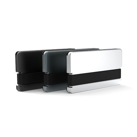 CRATE 2.0 Utilitarian Minimal Wallet (Stealth Black)