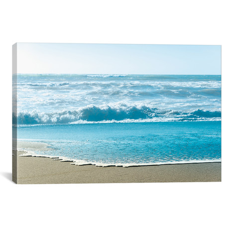 """Turquoise Sea Water Beach Landscape by Nature Magick (26""""W x 18""""H x 0.75""""D)"""