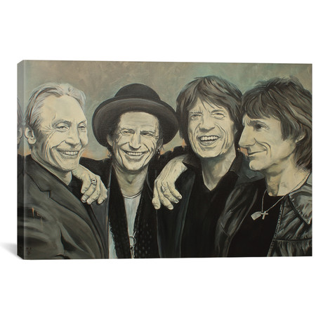 Rolling Stones by Mark Fox