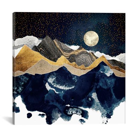 "Midnight Winter by SpaceFrog Designs (18""W x 18""H x 0.75""D)"