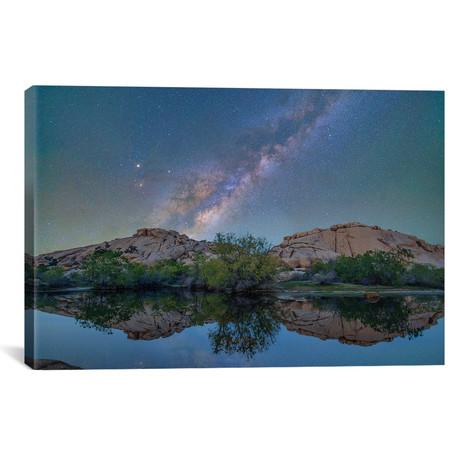 "Milky Way - Barker Pond Trail by Tim Fitzharris (26""W x 18""H x 0.75""D)"